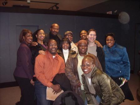 Roosevelt University sustainability students & faculty with Van Jones