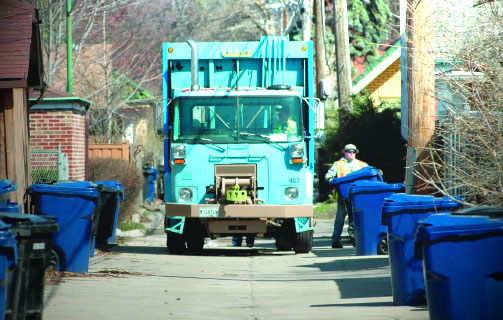 the city has expanded recycling pickup service to more single family dwellings - Chicago Christmas Tree Recycling